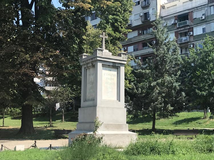 Spomenik Oslobodiocima Beograda 1806 Karađorđev Park Spomenici