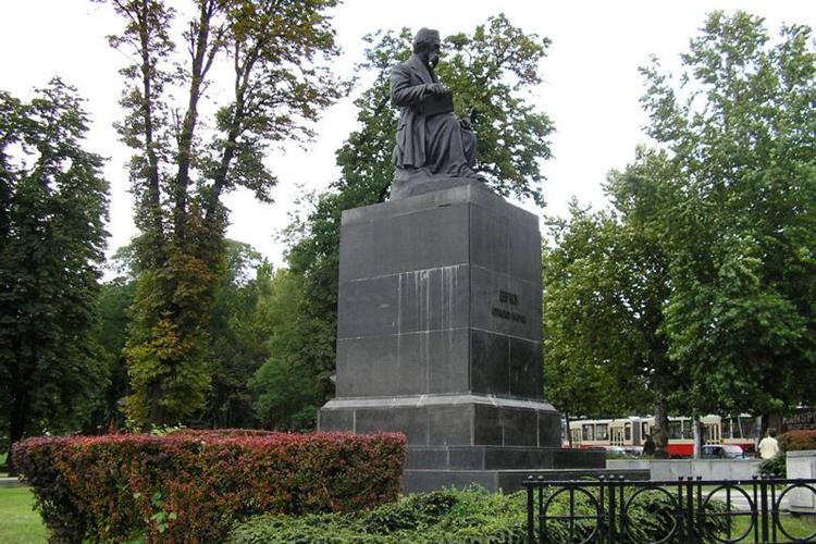 Spomenik Vuku Karadzicu Bulevar Kralja Aleksandra Spomenici